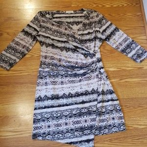 CALVIN KLEIN SNAKESKIN DRESS SZ LARGE